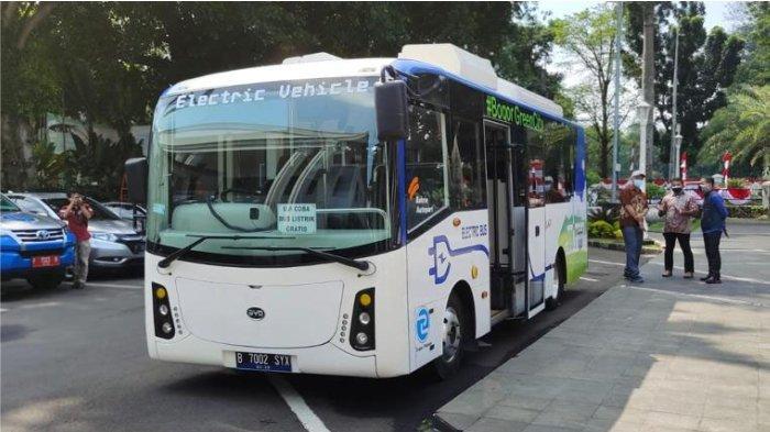 Pemkot Bogor, PLN dan PT Bakrie Autoparts Bersinergi Lakukan Uji Coba Bus Listrik