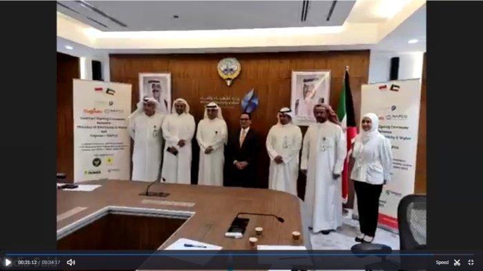 PLN Grup Raih Kontrak Operasi dan Pemeliharaan Jaringan Listrik di Kuwait Senilai 25,3 Juta US$