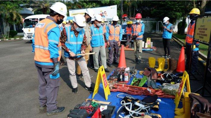 PLN UP3 Bandung Laksanakan Apel Siaga Pasokan Listrik Ramadhan dan Idul Fitri 1442 H