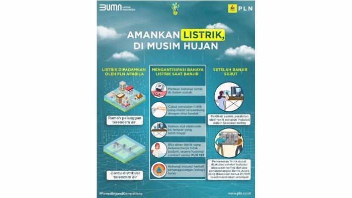 PLN UP3 Cimahi Ingatkan Pelanggan Amankan Sistem Kelistrikan Saat Musim Hujan, Begini Tipsnya