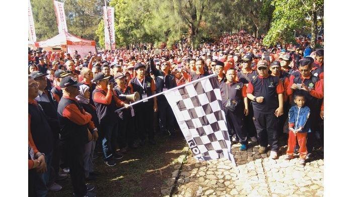 Ini Pesan Plt Bupati untuk Kemenag Cianjur, 6.500 Peserta Ikuti Jalan Sehat di Kebun Raya Cibodas