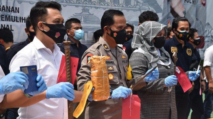 Ungkap 10 Kasus Tindak Pidana, Polresta Cirebon Ciduk 14 Tersangka