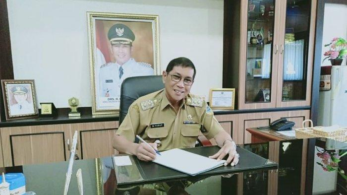 Plt Wali Kota Tasikmalaya Muhammad Yusuf di Bale Kota Tasikmalaya, Senin (10/5/2021).
