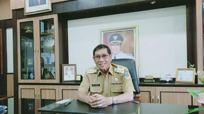 Plt Wali Kota Tasikmalaya Muhammad Yusuf, Senin (10/5/2021)