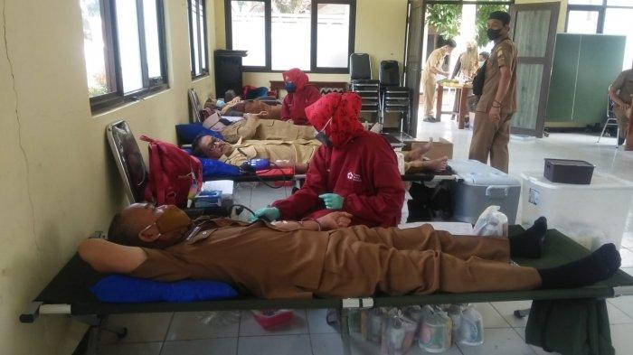 Gegara Pandemi Covid-19 dan PPKM Level 4, PMI Sumedang Krisis Stok Semua Golongan Darah
