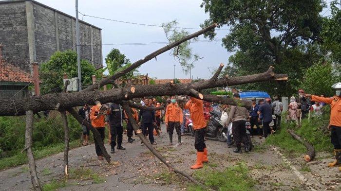 Warga Diimbau Waspada, Angin Kencang Melanda Wilayah Kota Tasik Sejak Selasa Pagi