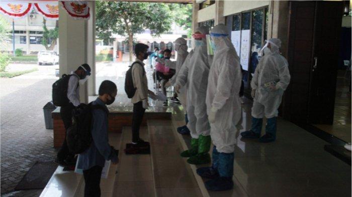 Proses Penerimaan Mahasiswa Baru POLBAN Ditengah Pandemi Covid-19