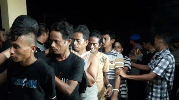 82 Terduga Pelaku Kerusuhan di Buton Ditangkap, Polda Sultra Segera Tentukan Status Hukumnya