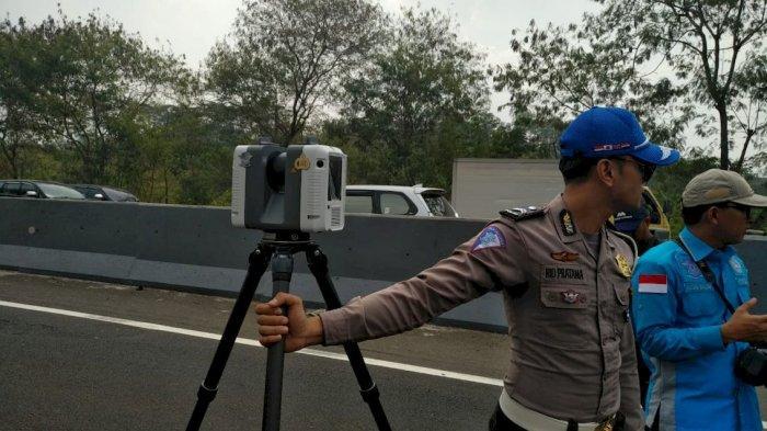 Polisi Gunakan Kamera Tiga Dimensi dan Scanner Olah Tempat Kejadian Tabrakan Beruntun Cipularang