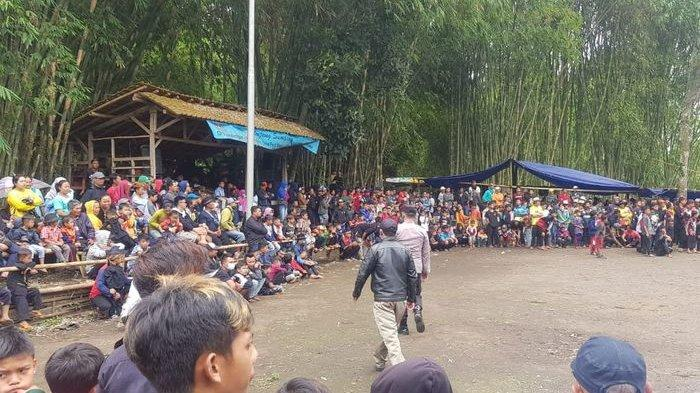 Bikin Kerumunan, Kontes Ketangkasan Domba di Tarogong Kaler Garut Dibubarkan Polisi