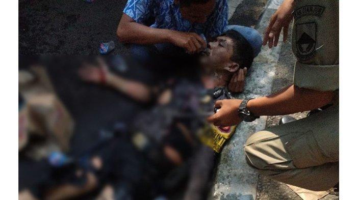 Inilah Ridwan Pemuda yang Peluk Kepala Polisi yang Dibakar Hidup-hidup: Sebenarnya Saya Merasa Ngeri