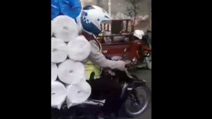 Dua Polisi yang Minta Rp 150 Ribu dan Bilang An***g ke Pengendara Motor Akhirnya Diperiksa Propam