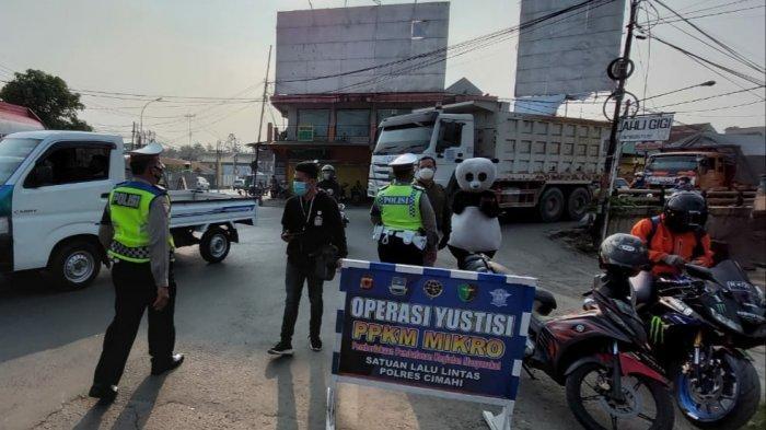 PPKM Level 3, Aturan Kapasitas Penumpang Transportasi Umum di Bandung Barat Tetap Diberlakukan