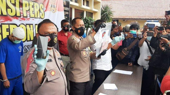 Polres Cirebon Kota Ringkus Komplotan Maling Spesialis Pecah Kaca, Pelaku Utamanya Didor