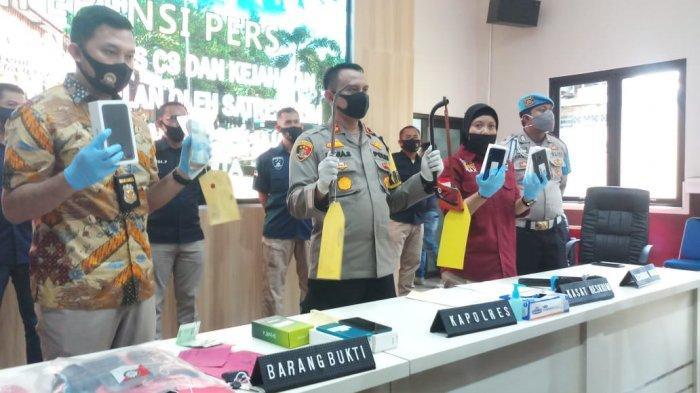 Delapan Garong Ditangkap Polres Purwakarta Selama Sepekan Ini, Terlibat di 5 Aksi Pencurian