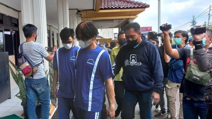 Polres Sukabumi Kota Tangkap Dua Kurir Narkoba Melalui Ekspedisi