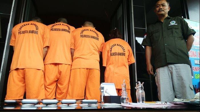 24 Pengedar Narkoba Berhasil Diciduk Jajaran Polresta Bandung, Barang Buktinya Sabu-sabu dan Ganja