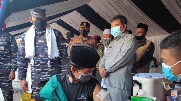 Setelah Warga Nelayan, TNI AL Targetkan Pesantren untuk Vaksinasi Covid-19, KSAL: Kami Tunda Latihan