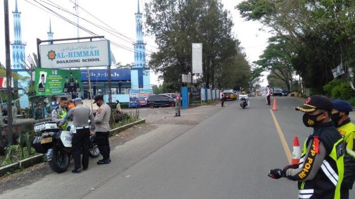 H-3 Lebaran Situasi Arus Lalu Lintas di Perbatasan Sukabumi-Cianjur Sepi, Hanya Pengendara Lokal