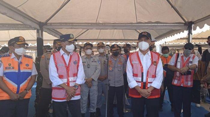 Dua Menteri Kunjungi Posko Balonggandu, Pemudik Diminta Tes Kesehatan Sebelum Bali Lagi