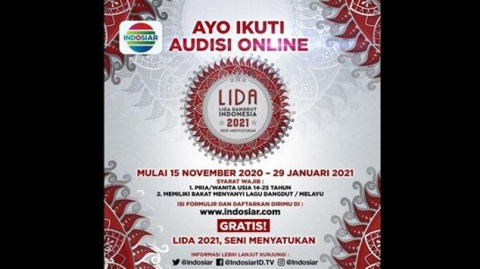 Audisi LIDA 2021 Digelar Secara Online Mulai Hari Ini ...
