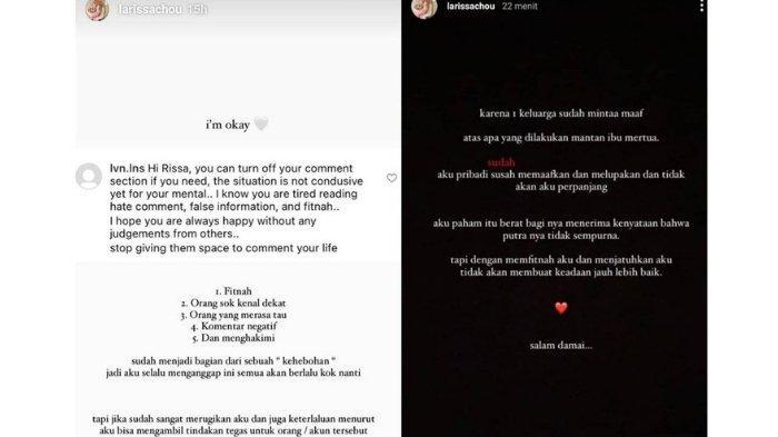 Postingan Larissa Choi yang viral
