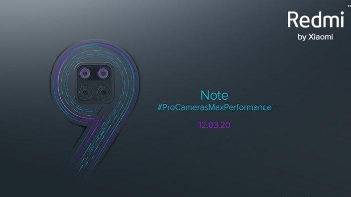 Harga dan Spesifikasi Hape Redmi Note 9 dan Redmi Note 9 Pro, Dirilis 12 Maret 2020