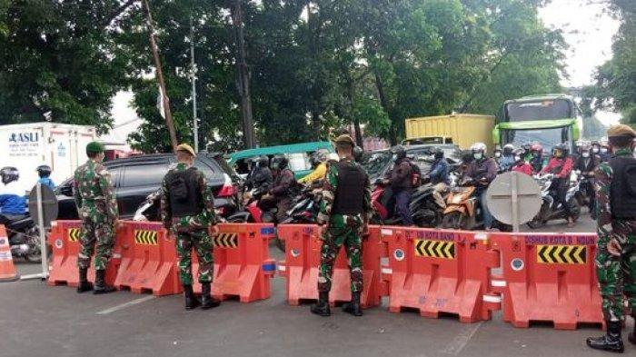 PPKM Darurat di Cimahi, Penyekatan Timbulkan Kemacetan di Perbatasan Bandung-Cimahi