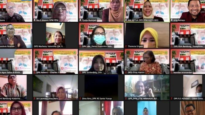 DPD PPNI Kota Bandung Advokasi Perawat Terpapar Covid-19 di Kota Bandung