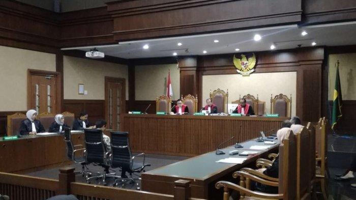 Eksepsi Terdakwa Kasus Suap Jual Beli Jabatan Romahurmuziy Ditolak Hakim Pengadilan Tipikor