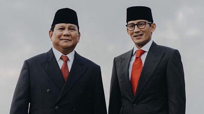 Prabowo dan Sandiaga Uno Update Instagram di Hari Sidang Putusan MK, Postingannya 'Banjir' Komentar