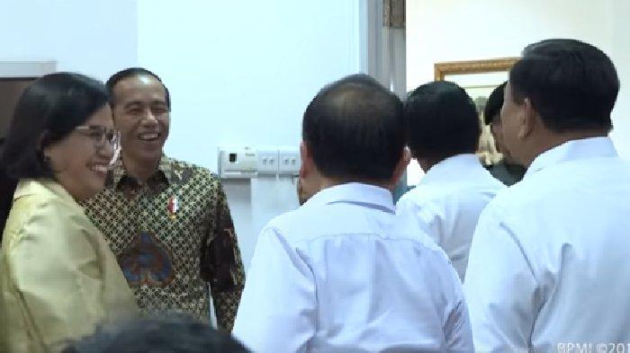 Dulu Prabowo Sebut Sri Mulyani Menteri Pencetak Utang, Kini Justru Akrab, Obrolannya Curi Perhatian