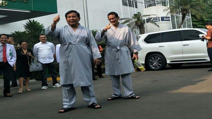 Prabowo-Sandiaga Uno Menang Telak di Garut Meski Belum Capai Target Pilpres 2019