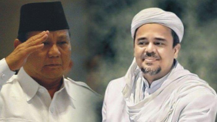Kalah Pilpres 2019, Janji Prabowo Jemput Habib Rizieq Shihab Pulang ke Indonesia Kandas?