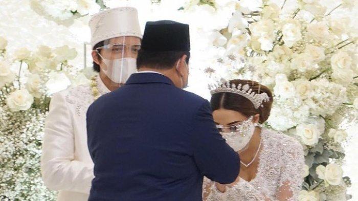 Begini Ucapan Prabowo untuk Atta dan Aurel yang Resmi Menikah, Banyak Netizen Berterimakasih