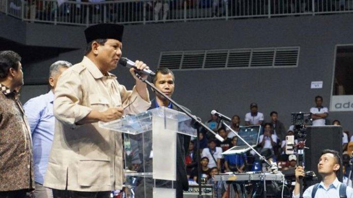 Curhat Prabowo Soal Susahnya Pinjam Uang: Saya Bingung Negara Ini Punya Siapa, Punya Genderuwo?
