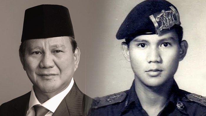 Inilah Foto LawasPrabowo Gagahnya Dilantik Soeharto Jadi Perwira Muda 9 Tahun Kemudian Jadi Menantu