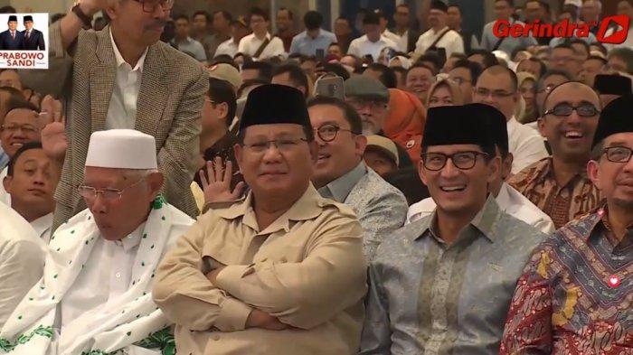 Prabowo Subianto Disambut Terikan 'Presiden', Komedian Miing Gumelar Lapor: ''Presiden Saya Gagal''