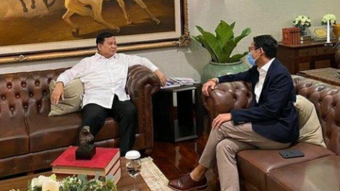 Prabowo Akhirnya Update Soal Sandiaga Uno Jadi Menteri Jokowi, Sandi Tunjukkan Pekerjaan Pertamanya