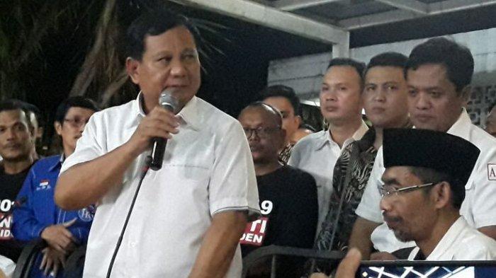 Massa FSPMI Cirebon Raya Dukung Prabowo Subianto Jadi Calon Presiden 2018