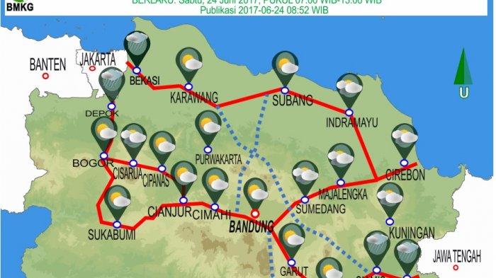 Waspada Hujan Dan Angin Kencang Begini Prakiraan Cuaca Di Jawa Barat Selengkapnya Tribun Jabar