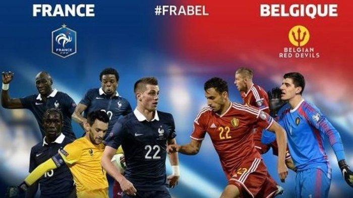 Tundukkan Belgia 1-0, Prancis ke Final Piala Dunia untuk Ketiga Kalinya