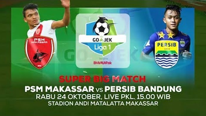 Ini Catatan Persib Bandung Main di Kandang PSM Makassar Selama 10 Tahun Terakhir