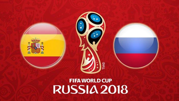 Prediksi Skor Spanyol vs Rusia Babak 16 Besar Piala Dunia 2018