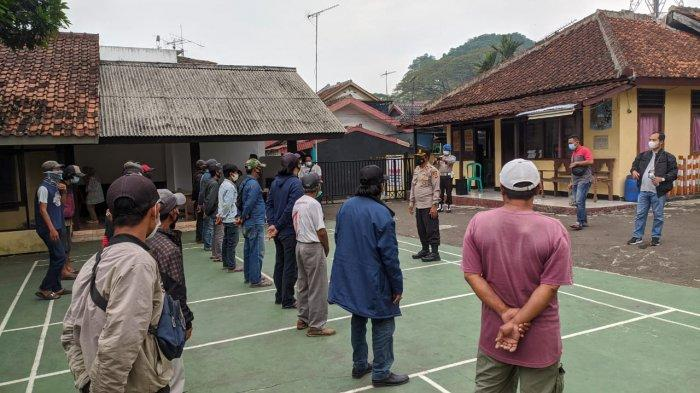 Puluhan Preman dan Tukang Parkir di Sukabumi Diamankan, Didata, Dibina Lalu Dijadikan Cepu Polisi