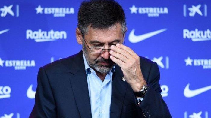 Mantan Presiden Barcelona Josep Maria Bartomeu.