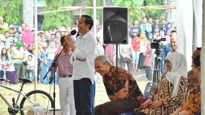 Dialog Kocak Presiden Jokowi dengan Bocah Kroya: Nyong Wareg Mangan Sega