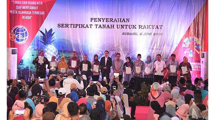Empat Tahun Lagi Seluruh Tanah di Jawa Barat Akan Bersertifikat