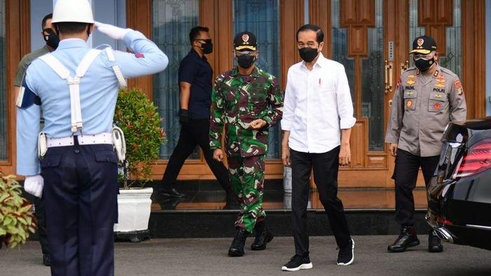 Guyonan Jokowi soal Tokoh-tokoh Partai Pasang Baliho untuk Pilpres 2024: Bagaimana Bisa 3 Periode?
