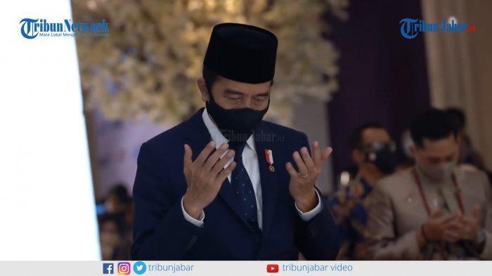 Presiden Joko Widodo menjadi saksi dari Aurel Hermansyah dalam pernikahannya dengan Atta Halilintar.